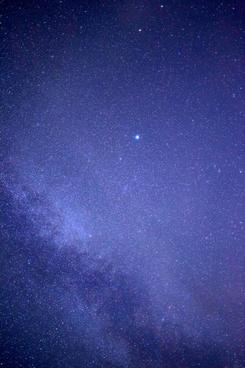 stars milky way night sky