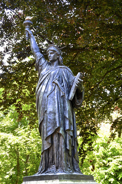 statue of liberty original model version 2