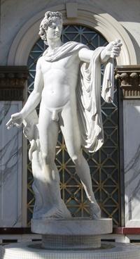 statue stone male