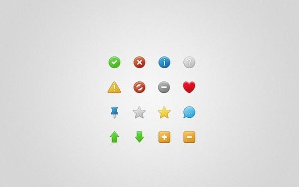 Status icons