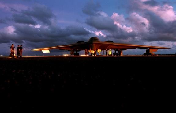 stealth fighter bomber