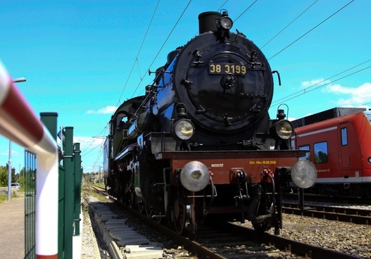 steam locomotive force railway