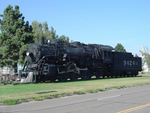 steam locomotive vintage antique