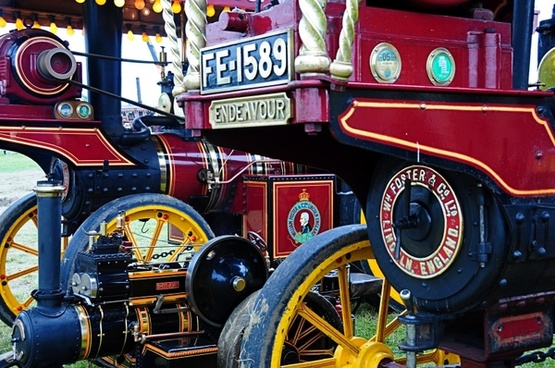 steam traction engine fair