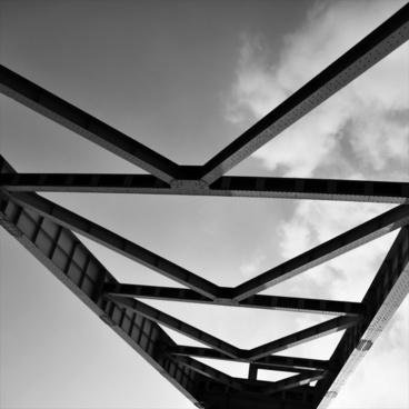 steel beams scaffold steel