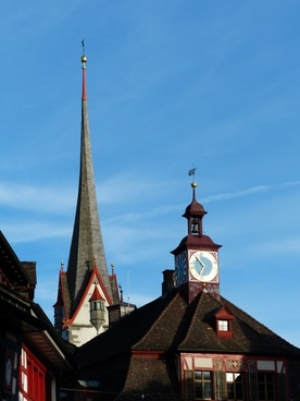 stein am rhein church town hall