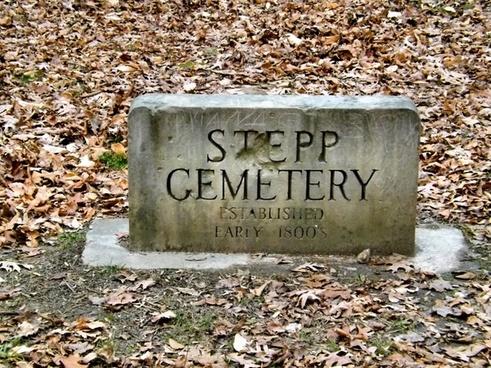 stepp cemetery at morgan monroe