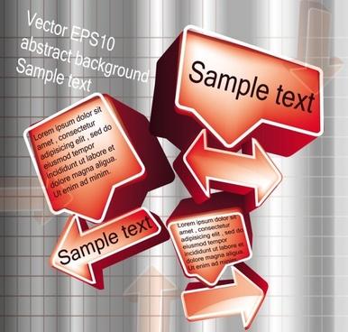 stereo dialog box 04 vector