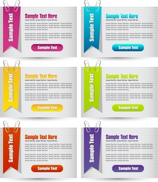 sticker notes stickers vector