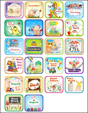 stickers for kids