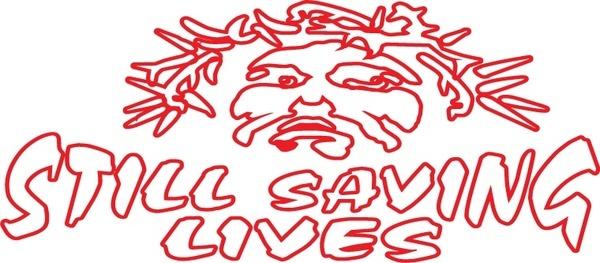 Still saving lives logo