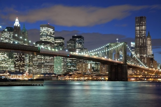 stock photo new york city panorama