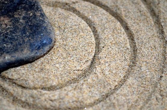 stone and circles