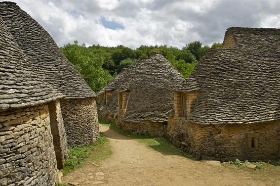 stone cottages cottages dry stone masonry