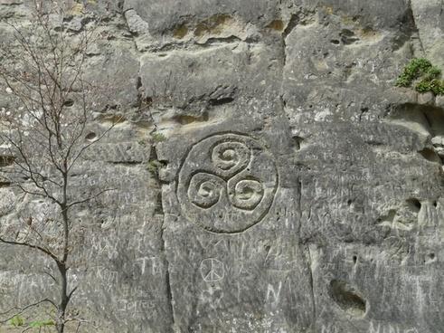 stone rock steinzeichnung