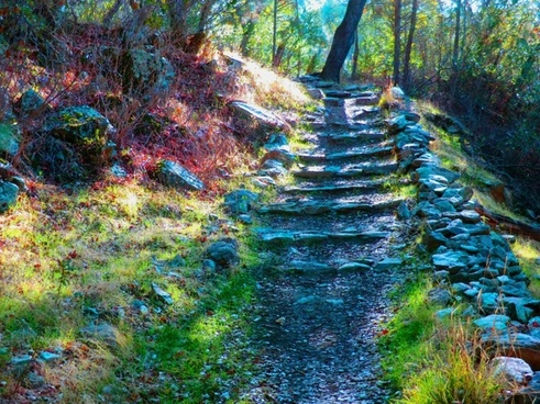 stone stairs 19