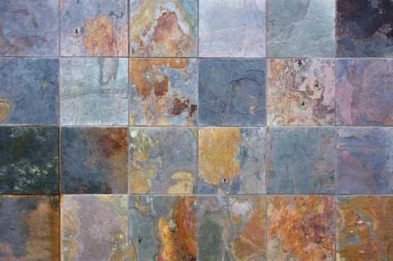 stone tile wall background