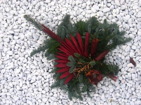 stones arrangement bouquets