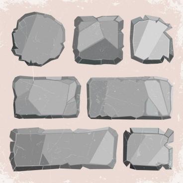stones background shiny retro design 3d shapes