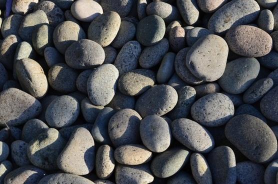 stones pebble nature