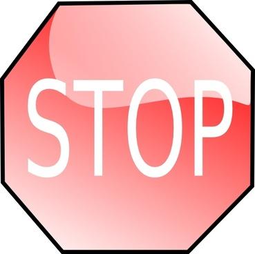 Stop Sign clip art