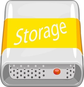 Storage Disc clip art