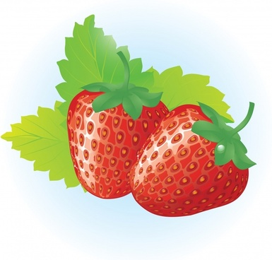 strawberry advertising background modern colorful closeup design