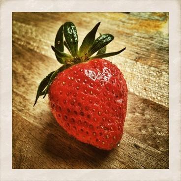 strawberry strawberries fruits