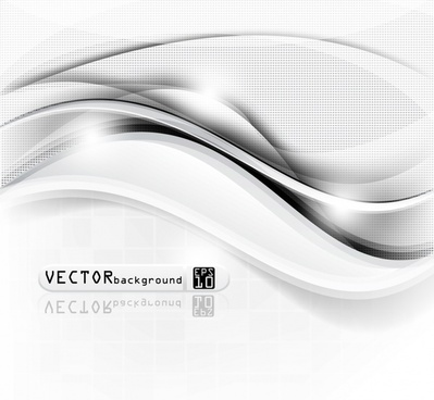 streamline halo background vector