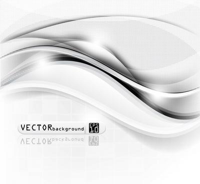 streamline halo background vector