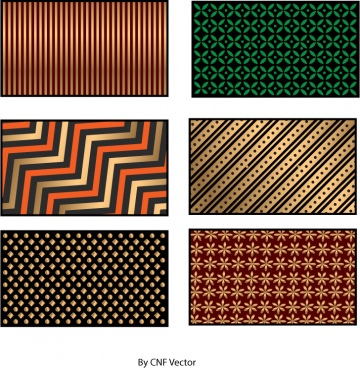 stripe vector pattern use for print and emblishment