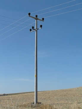 strommast electricity current