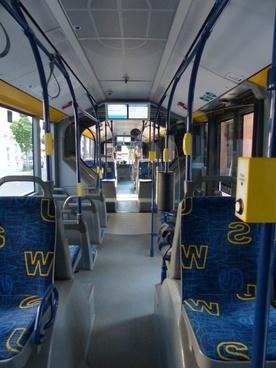 strrassenbahn interior bus