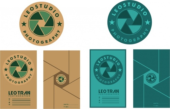 studio promotion sets logotype and brochure cover design