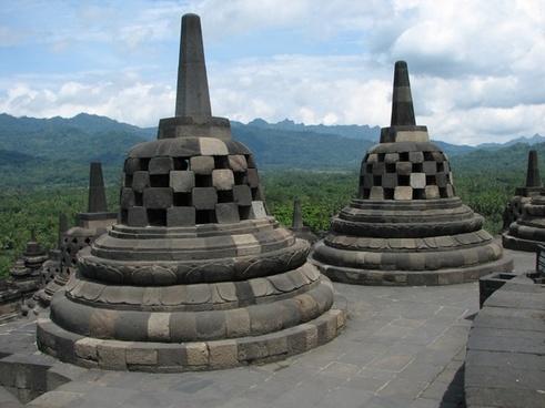 stupa borobudur barabudur