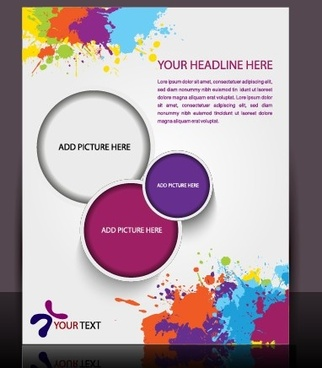 brochure flyer layout free vector download 5 145 free vector for