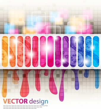 decorative background shiny gorgeous colorful modern blurred melting
