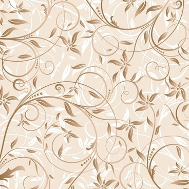 floral background classical seamless curves ornament