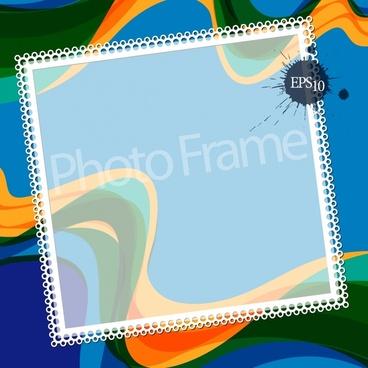 photo frame background template elegant colorful blurred decor