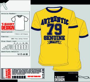 stylish t shirt design vector