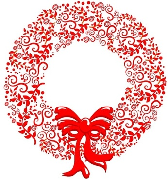 Christmas Wreath Silhouette Free.Christmas Wreath Free Vector Download 7 285 Free Vector
