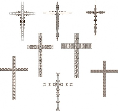 Stylized Cross Set