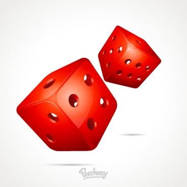 stylized dice