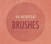 Subtle Grunge Photoshop Brush Set 2