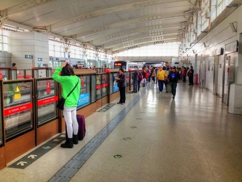 subway in beijing china