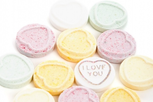 sugar candy hearts