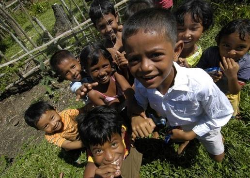sumatra indonesia children