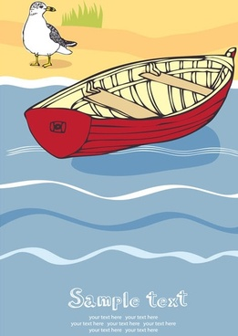 summer beach holidays vector 3