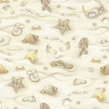 summer beach vintage pattern seamless vector