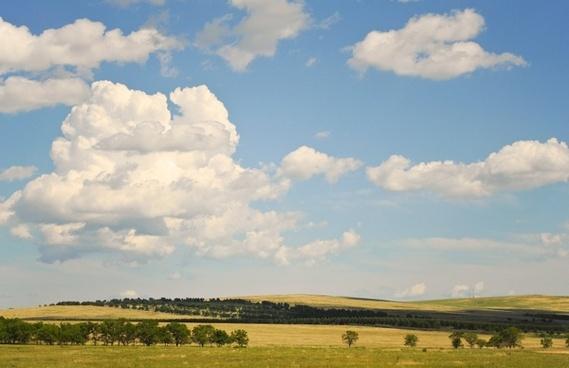summer clouds sky